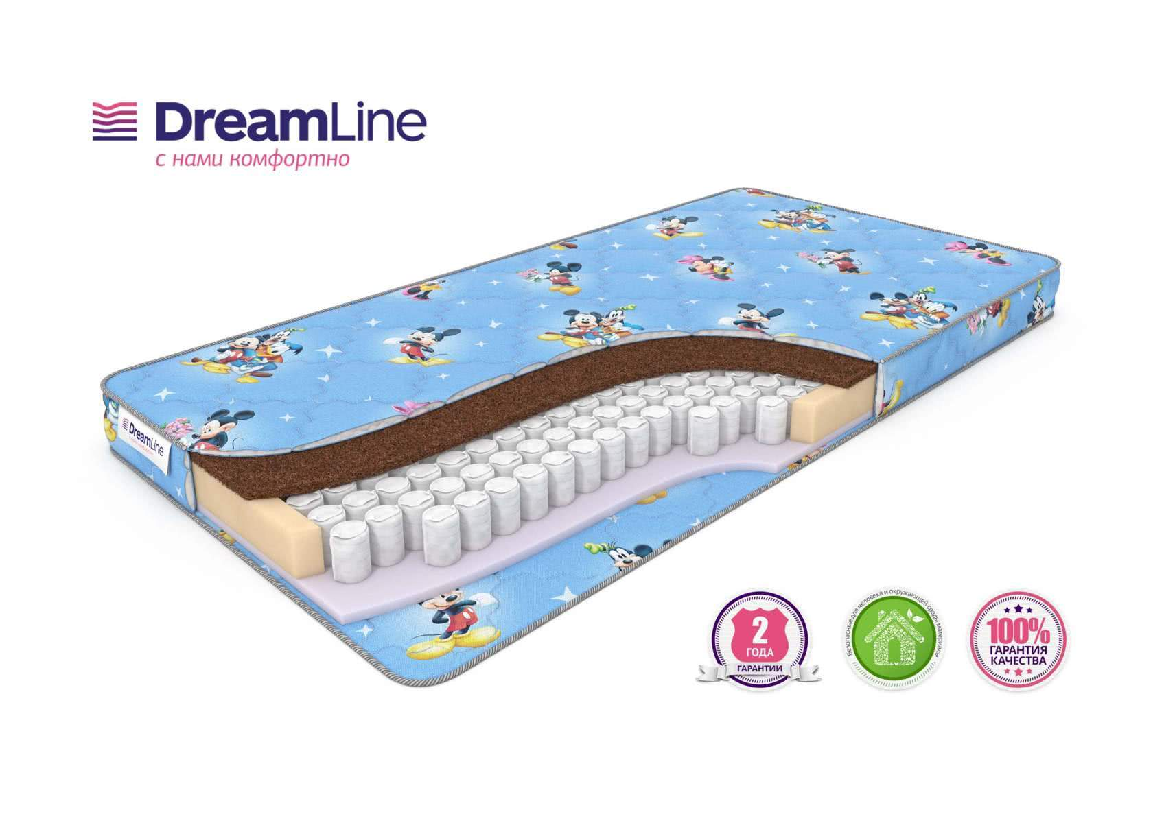Детский матрас DreamLine Baby Sleep Dream TFK