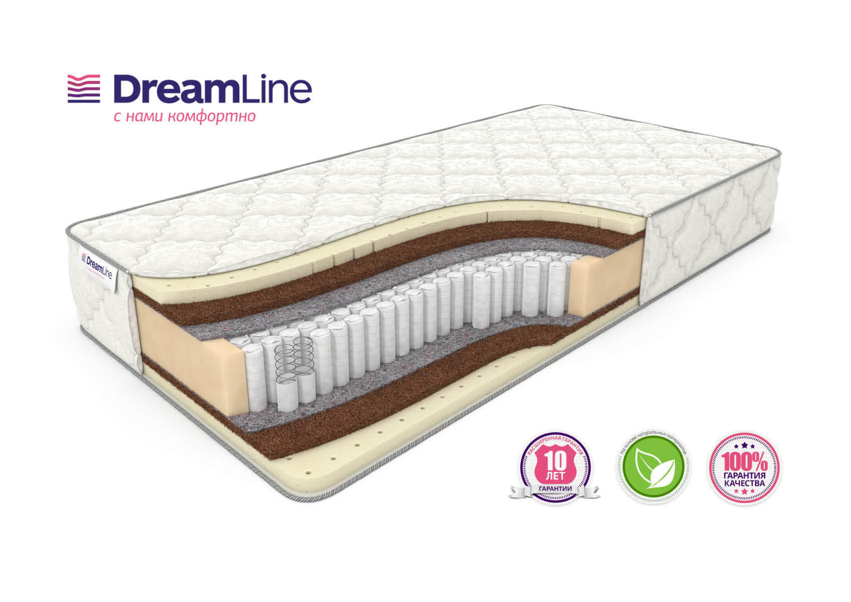 Матрас DreamLine Prime Medium S1000