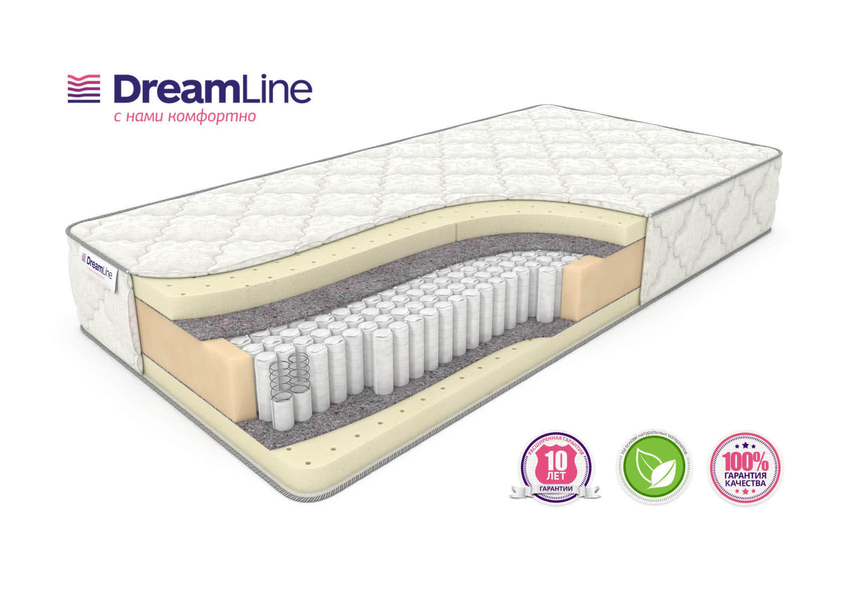 Матрас DreamLine Prime Soft S1000