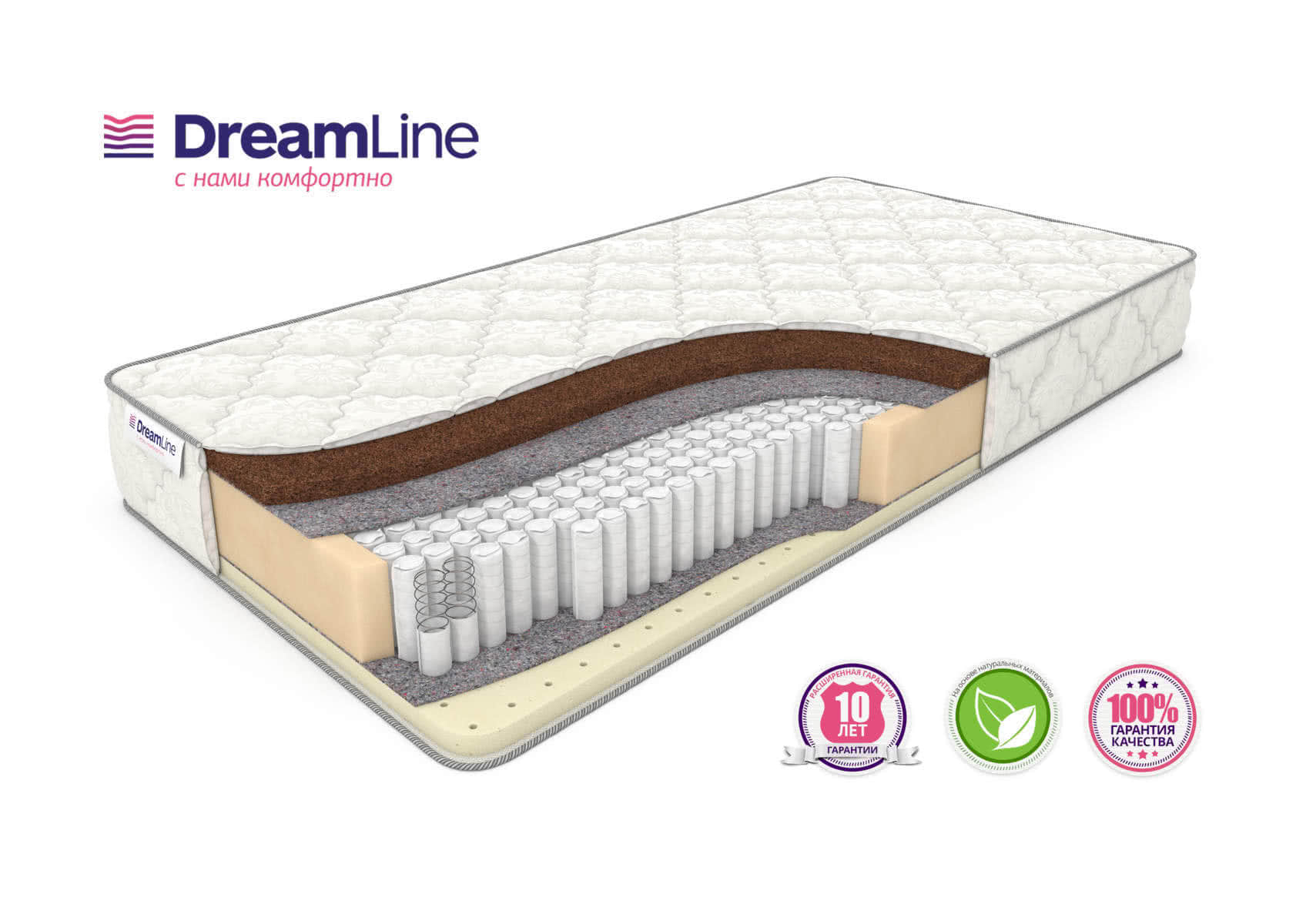 Матрас DreamLine SleepDream S1000