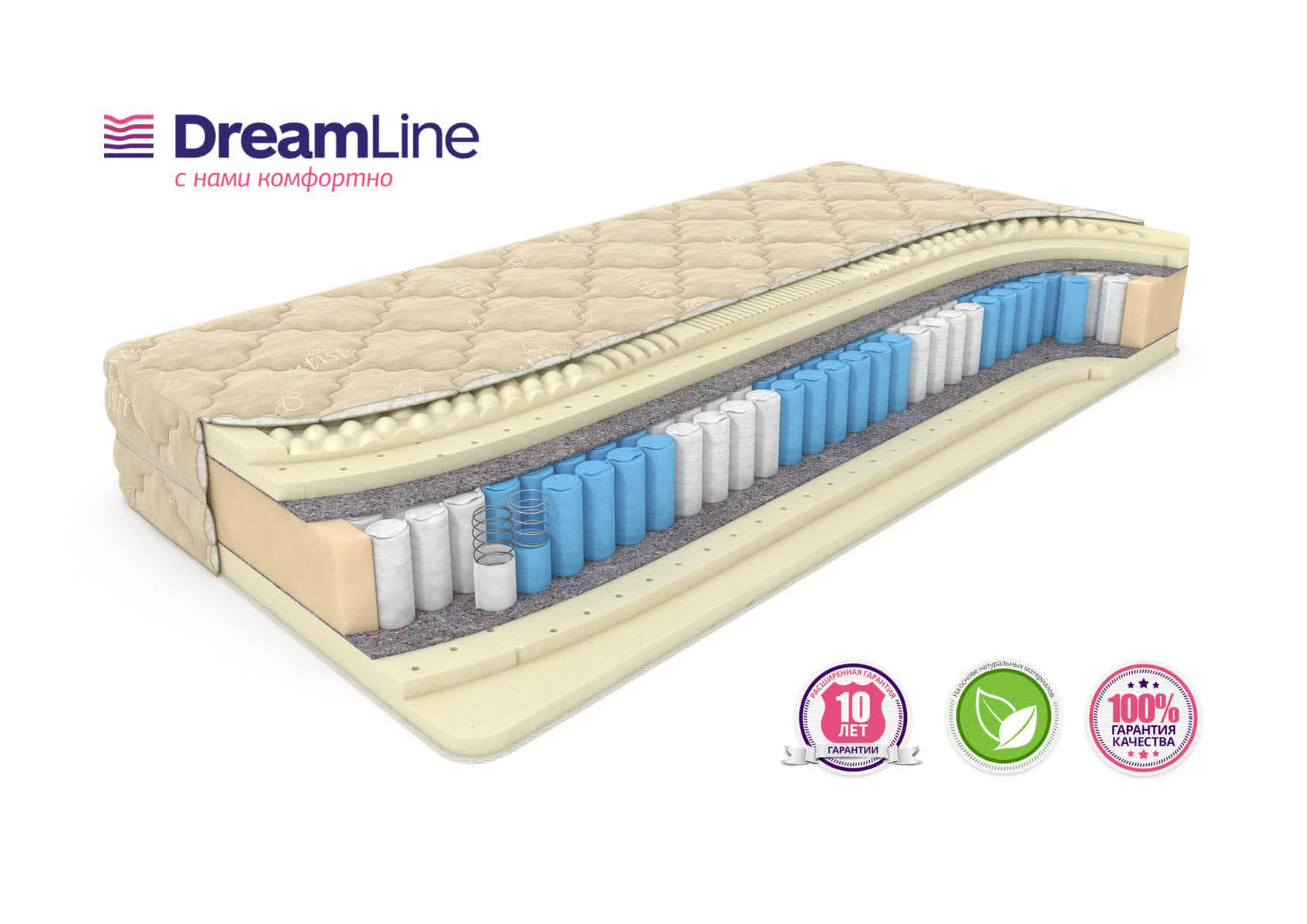 Матрас DreamLine Prime Smart Zone