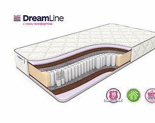 Матрас DreamLine Eco Foam Hard S1000