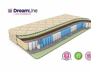 Матрас DreamLine Mix Foam Smart Zone