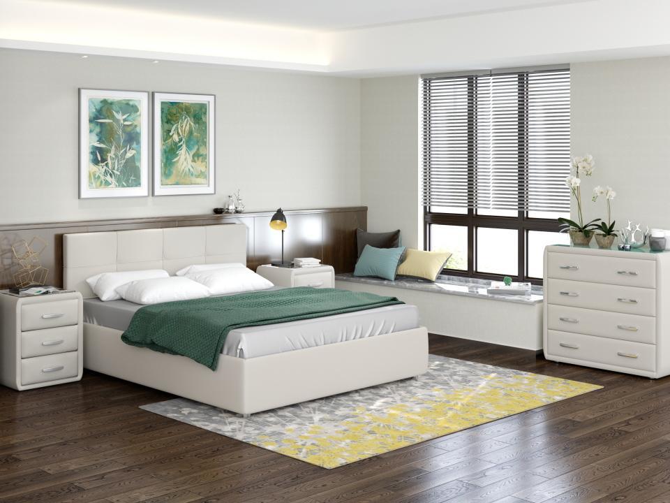 Кровать Life 1 Box (ткань forest)