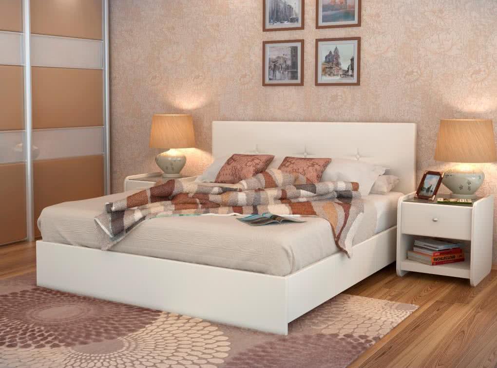 Кровать Аскона Isabella с основанием, 2 категория
