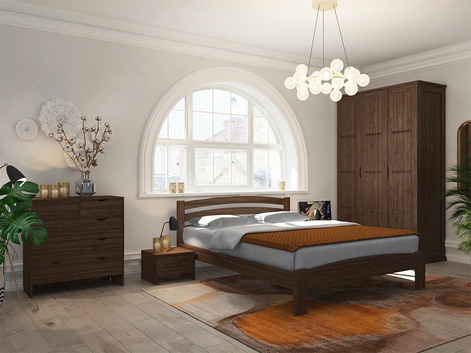 Кровать Райтон Веста 2-R береза